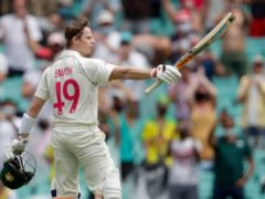 Steve Smith was criticised for an apparent incident in the third Test in Sydney (AP Photo/Rick Rycroft)