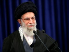 Supreme Leader Ayatollah Ali Khamenei (Office of the Iranian Supreme Leader via AP)