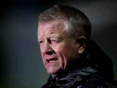 Sheffield United manager Chris Wilder is aiming to build on FA Cup success in the Premier League (Nick Potts/PA)