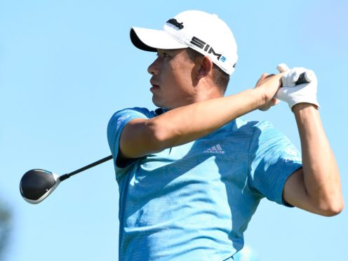 Collin Morikawa discussed his family ties to Hawaii ahead of the Sony Open (Matthew Thayer/The Maui News via AP)