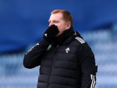 Celtic boss Neil Lennon is set to return to the dugout after self-isolating (Andrew Milligan/PA)