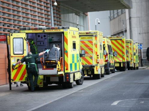 A Government adviser has warned Boris Johnson faces the 'mother of all arguments' next month when he comes under pressure to loosen the lockdown while the NHS is still under severe strain (Yui Mok/PA)