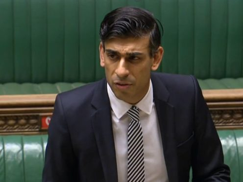 Chancellor Rishi Sunak gives a statement on the economy (House of Commons)