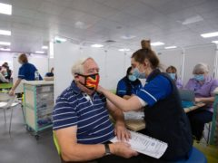 More than one million people aged 80 and over have been invited to receive a coronavirus vaccine (Joe Giddens/PA)
