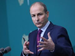 Micheal Martin said Ireland was 'not in a position to seal the border' (Julien Behal Photography/PA)