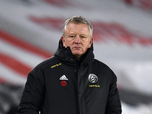 """Chris Wilder insists Sheffield United must not """"waste the opportunity"""" following their first Premier League win (Oli Scarff/PA)"""