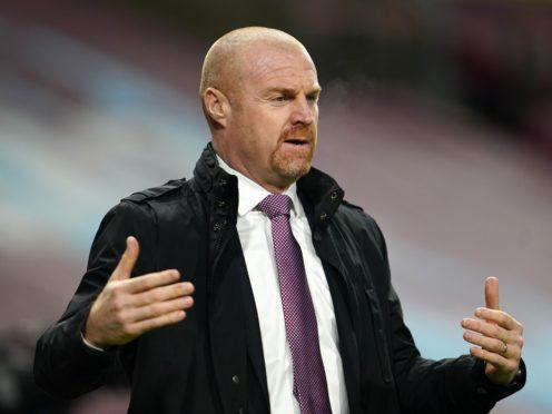 Sean Dyche's Burnley take on Liverpool on Thursday (Jon Super/PA)