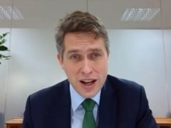 Education Secretary Gavin Williamson answering questions from MPs on the Commons Education Committee (House of Commons/PA)