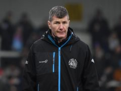 Exeter boss Rob Baxter has been voted personality of the year for 2020 by the rugby media, Simon Galloway/PA