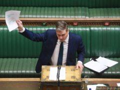 Labour leader Sir Keir Starmer (UK Parliament/Jessica Taylor/PA)