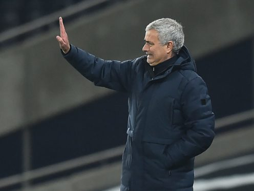 Jose Mourinho is expected to field a strong side against Wycombe (Glyn Kirk/PA)