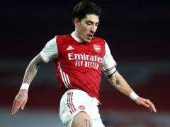 Hector Bellerin helped Arsenal keep a fourth straight clean sheet following their 0-0 draw with Crystal Palace. (Julian Finney/PA)