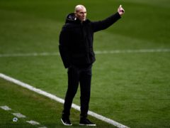 Zinedine Zidane saw his Real madrid side crash out of the Copa del Rey (Jose Breton/AP)
