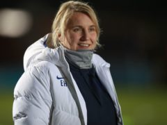 Emma Hayes' Chelsea are unbeaten in the WSL this season (Adam Davy/PA).