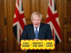 Prime Minister Boris Johnson (Dominic Lipinski/PA)