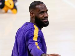 Los Angeles Lakers forward LeBron James (Ashley Landis/AP)