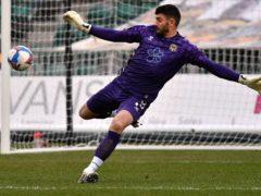 Newport goalkeeper Tom King had a famous moment at Cheltenham (Simon Galloway/PA)