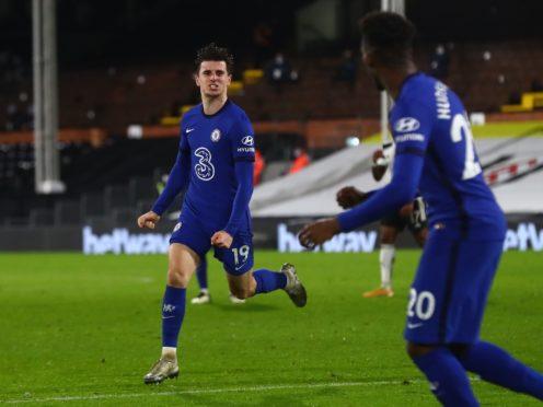 Mason Mount bagged the vital goal (Clive Rose/PA)