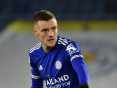 Leicester's Jamie Vardy is expected to be fit to face Chelsea. (Rui Vieira/PA)