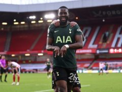 Tanguy Ndombele scored a fine goal in Tottenham's 3-1 win over Sheffield United (Laurence Griffiths/PA)