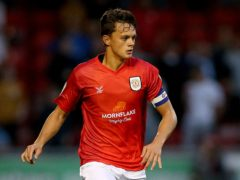 Crewe captain Perry Ng is on the verge of joining Cardiff (Nigel French/PA)