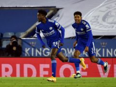 Wilfred Ndidi scored the opener in Leicester's win over Chelsea (Rui Vieira/PA)