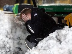 Celtic manager Neil Lennon is in defiant mood despite his side drawing at Livingston (