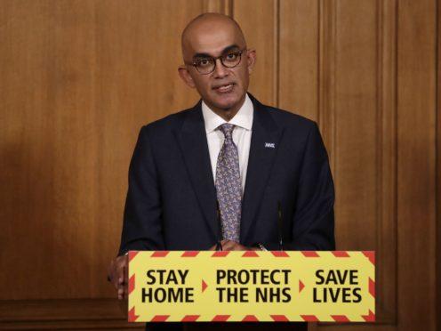 Dr Vin Diwakar, NHS England regional medical director for London (Matt Dunham/PA)
