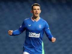 Ryan Jack returned with a goal for Rangers (Jane Barlow/PA)