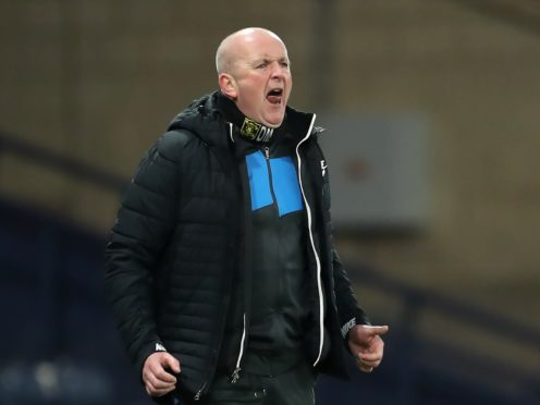 David Martindale's dream start to management continued (Jane Barlow/PA)
