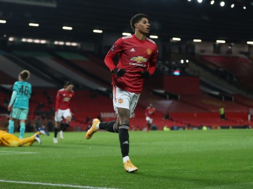 Marcus Rashford is fit for Manchester United (Martin Rickett/PA)