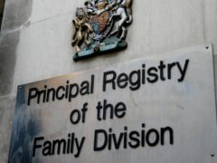 The judge had heard evidence at a trial in the Family Division of the High Court in December (PA)