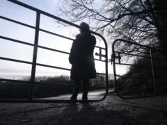 A woman who wishes only to be known by Adele pictured at Palace Demesne in Co Armagh after telling the story of her experience at the Marianvale mother and baby home in Newry to PA Media. (Niall Carson/PA)