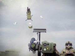 The Starstreak missile system has been procured by defence forces worldwide ((Thales/PA)