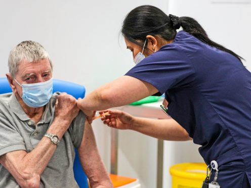 Some 4.4 million people in Scotland are still to be vaccinated (Peter Byrne/PA Wire)