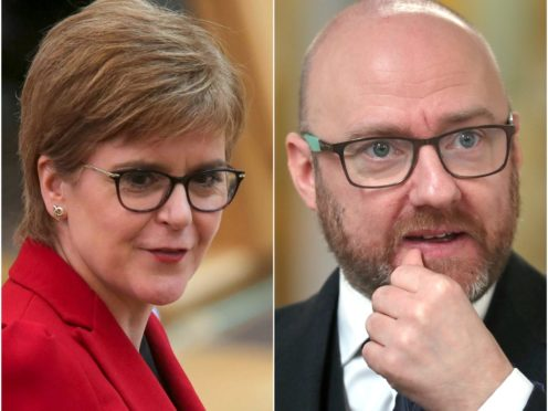 The issues was raised during First Minister's Questions by Greens leader Patrick Harvie (PA)