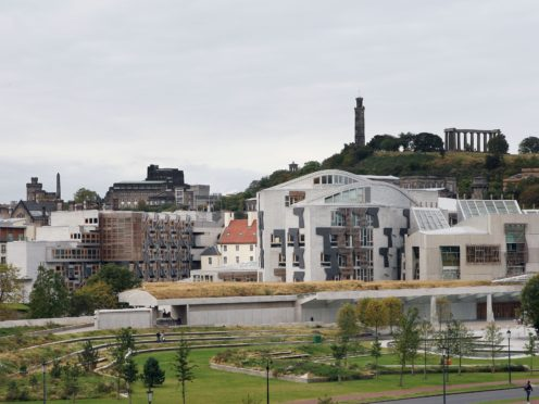 The Scottish Parliament has set up a citizens' panel to consider the response to Covid-19 (PA)