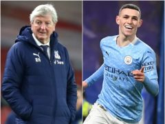 Roy Hodgson believes Phil Foden will continue to improve (Julian Finney/PA/ Andy Rain/PA)