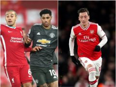 Liverpool and Manchester United played out a goalless draw while Mesut Ozil was sorting out a move to Turkey (Michael Regan/John Walton/PA)