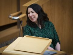 The trade union Unison has endorsed Monica Lennon in the contest to find the next Scottish Labour leader (Jane Barlow/PA)