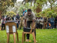 Uganda's leading opposition politician Bobi Wine (AP/Jerome Delay, File)