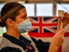 Nicola Sturgeon said the Scottish Government may publish details of coronavirus vaccine supplies (Ben Birchall/PA)
