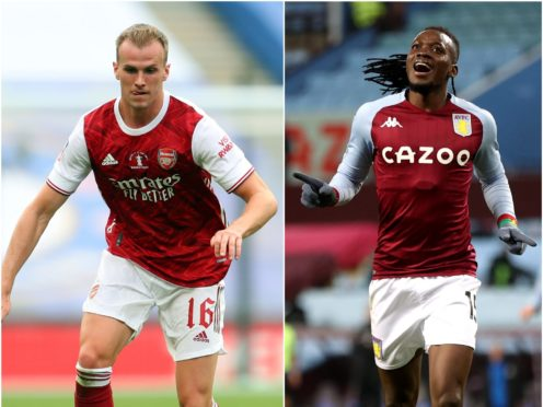 Rob Holding, left, and Bertrand Traore can reward brave FPL managers this week ( Catherine Ivill/Clive Brunskill/PA)