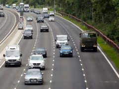 Smart motorways do not have hard shoulders (PA)