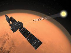 ExoMars Trace Gas Orbiter analyses the martian atmosphere (ESA/ATG medialab/PA)