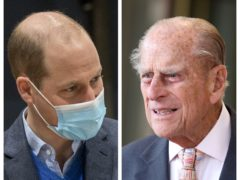 The Duke of Cambridge has reassured royal fans that the Duke of Edinburgh, who has spent almost a week in hospital, is 'OK' ( Arthur Edwards/The Sun/PA)