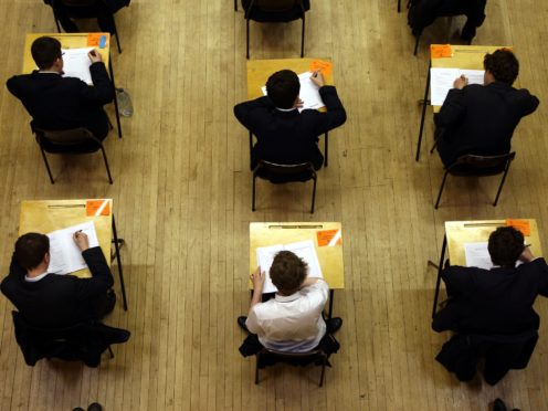 The Greens have said trust in the SQA is 'all but non-existent' (David Jones/PA)