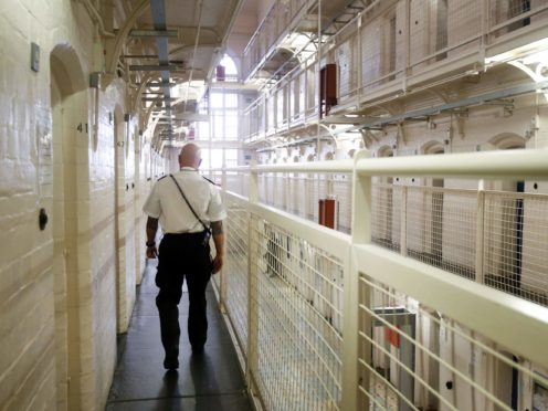Prisoners serving sentences of less than 12 months can currently vote in Scottish Parliament elections (Danny Lawson/PA)
