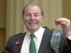 Sydney Devine has died in hospital aged 81 (Matthew Fearn/PA)