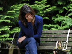 Domestic abuse rose by 10% in the year ending September 2020, new figures show (Posed by model/Anna Gowthorpe/PA)
